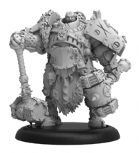 Sergeant Dragos Dragadovich  Khador Command Attachment (resin/metal)